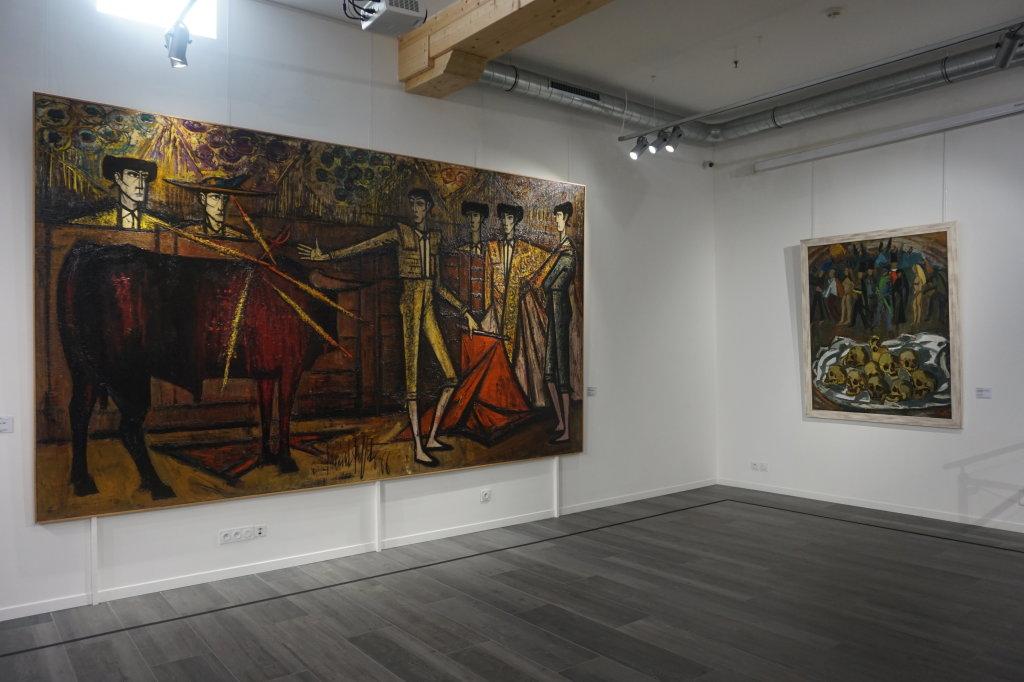 Vue de l'exposition Couty-Buffet au Musée Jean Couty (13)