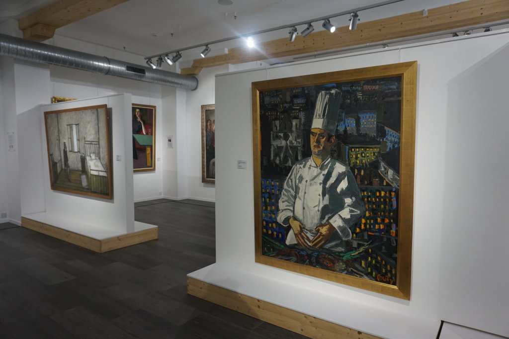 Vue de l'exposition Couty-Buffet au Musée Jean Couty (14)