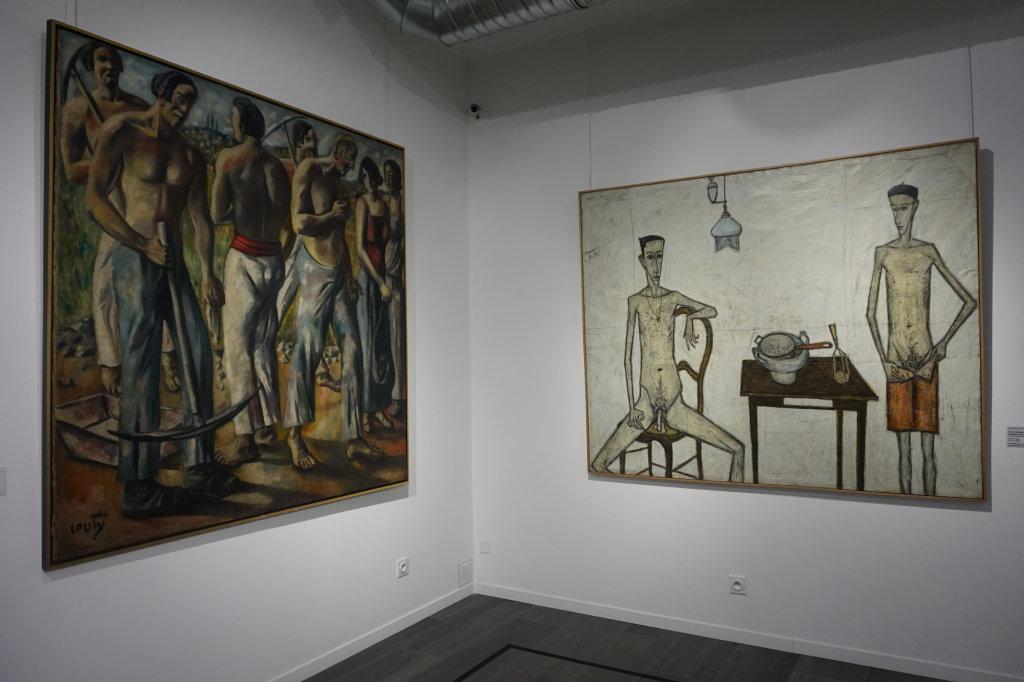 Vue de l'exposition Couty-Buffet au Musée Jean Couty (18)
