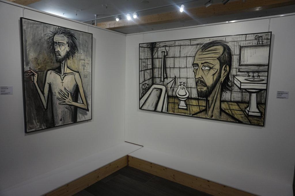 Vue de l'exposition Couty-Buffet au Musée Jean Couty (19)