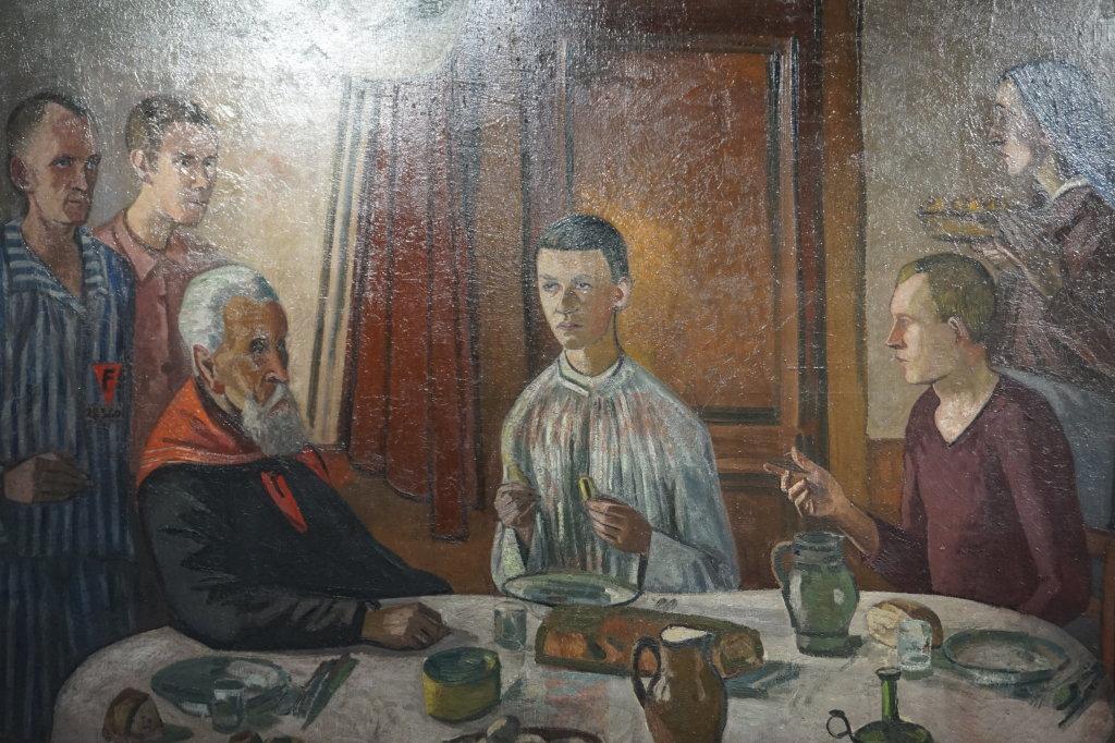Vue de l'exposition Couty-Buffet au Musée Jean Couty (27)