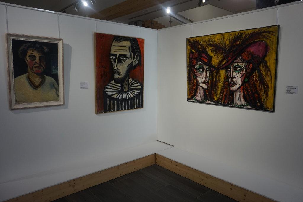 Vue de l'exposition Couty-Buffet au Musée Jean Couty (3)