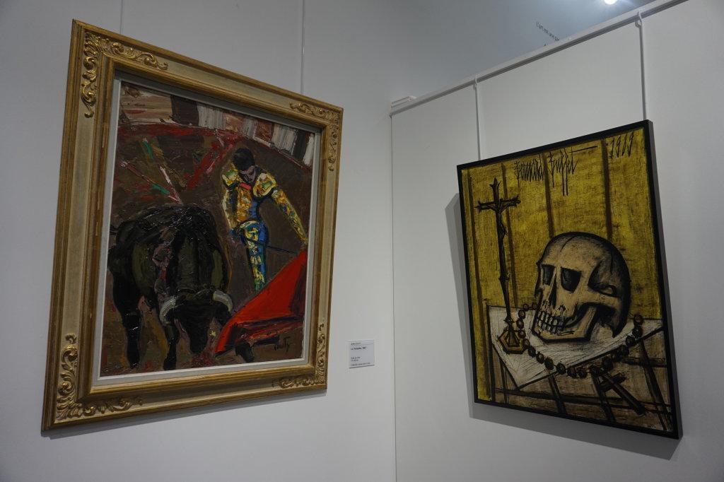 Vue de l'exposition Couty-Buffet au Musée Jean Couty (30)