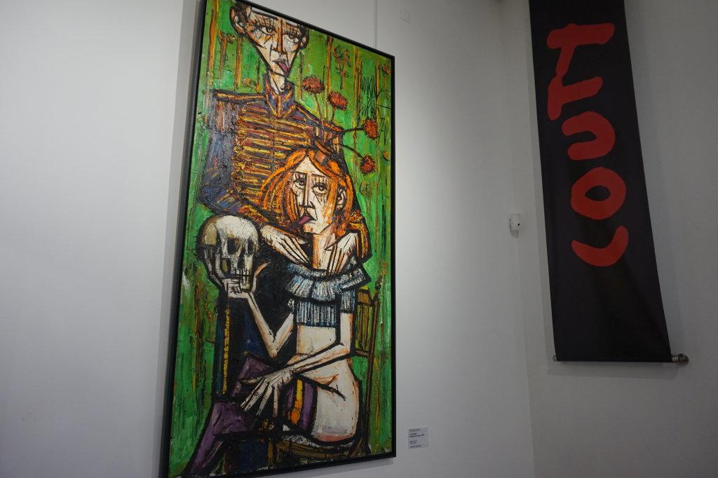 Vue de l'exposition Couty-Buffet au Musée Jean Couty (31)