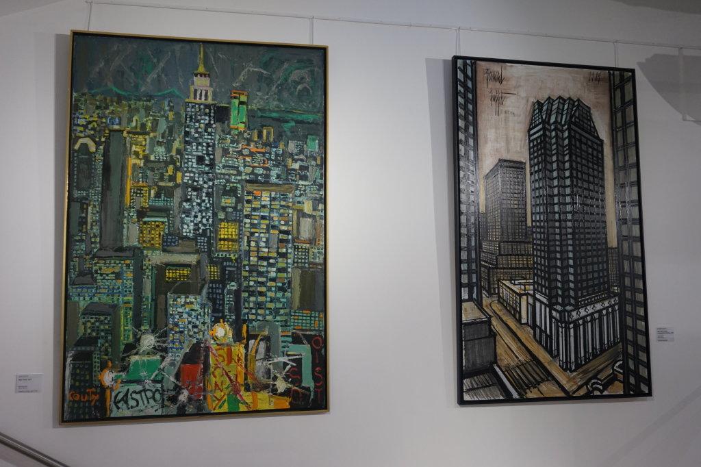 Vue de l'exposition Couty-Buffet au Musée Jean Couty (34)