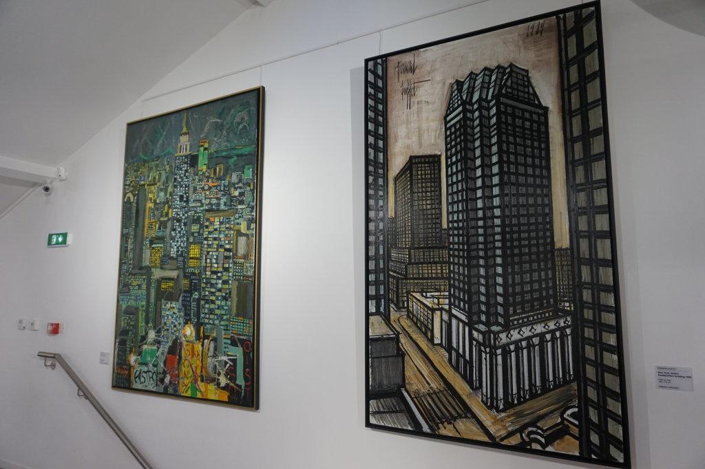 Vue de l'exposition Couty-Buffet au Musée Jean Couty (38)
