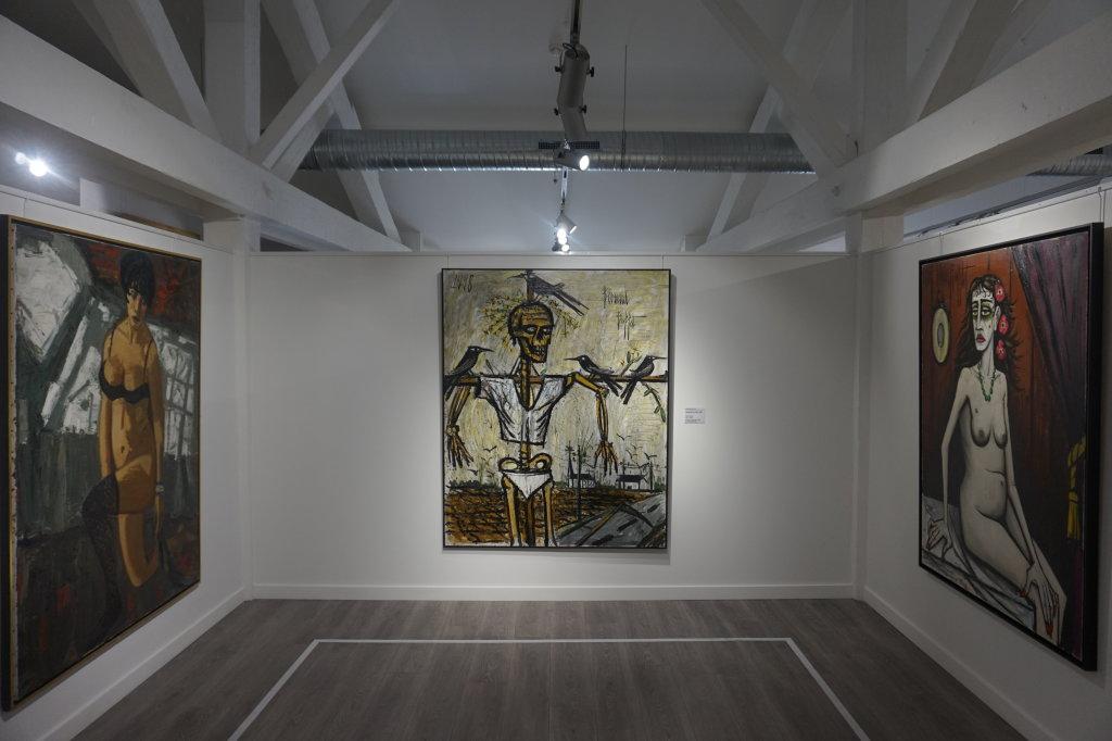 Vue de l'exposition Couty-Buffet au Musée Jean Couty (39)