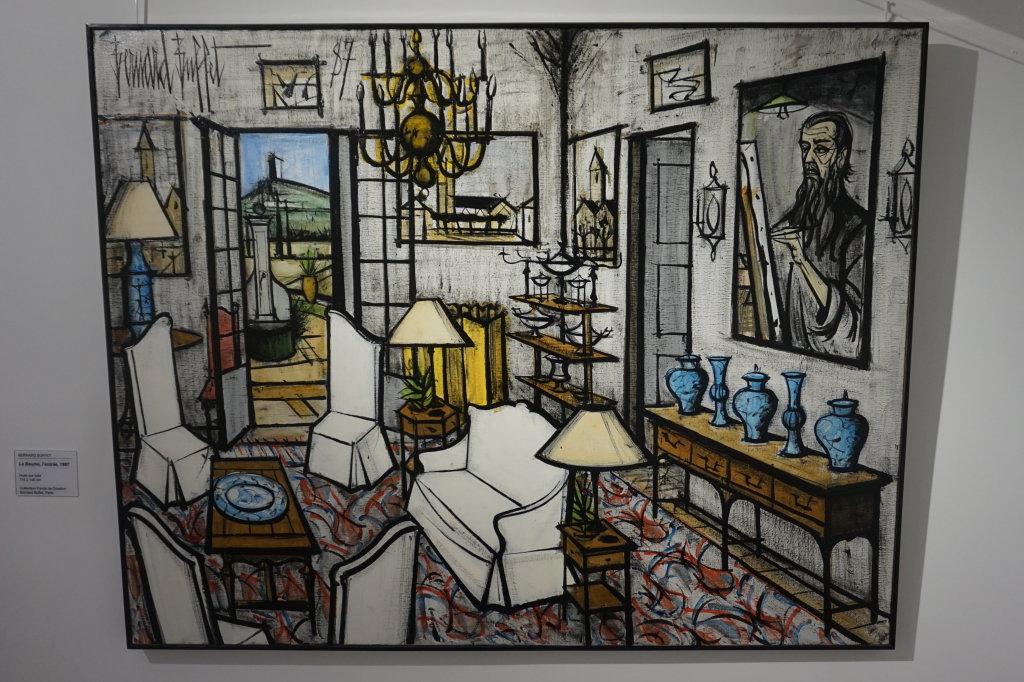 Vue de l'exposition Couty-Buffet au Musée Jean Couty (44)