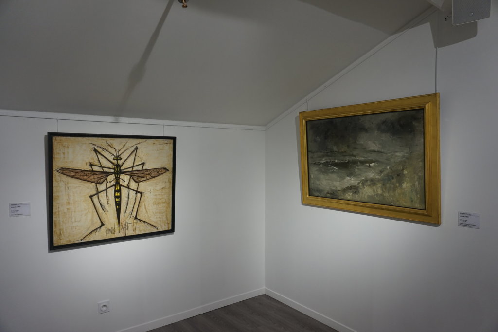 Vue de l'exposition Couty-Buffet au Musée Jean Couty (46)