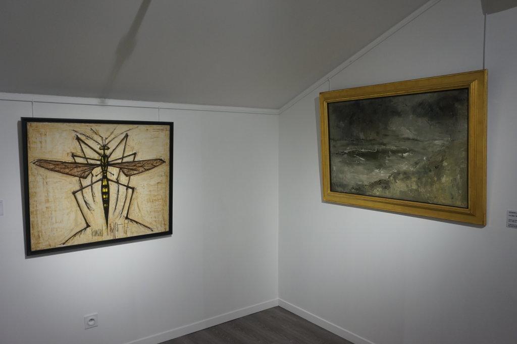 Vue de l'exposition Couty-Buffet au Musée Jean Couty (47)