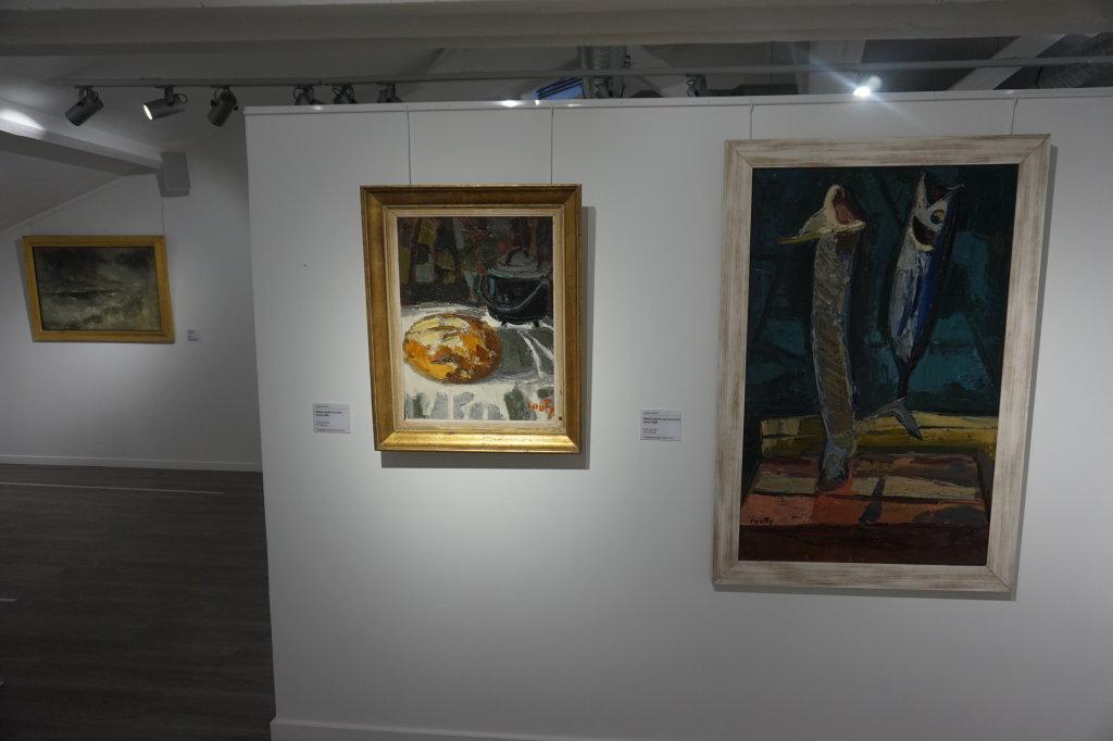 Vue de l'exposition Couty-Buffet au Musée Jean Couty (48)