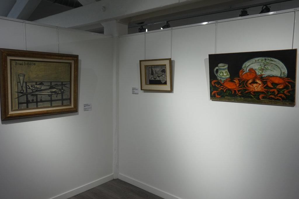 Vue de l'exposition Couty-Buffet au Musée Jean Couty (51)