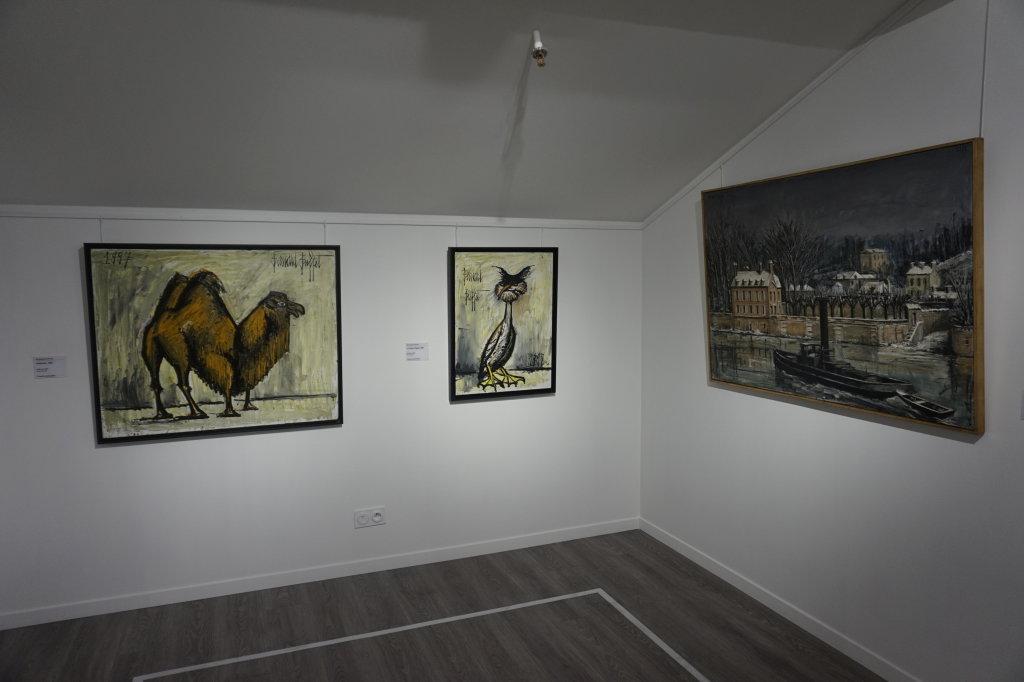 Vue de l'exposition Couty-Buffet au Musée Jean Couty (52)