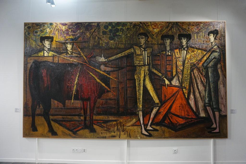 Vue de l'exposition Couty-Buffet au Musée Jean Couty (6)