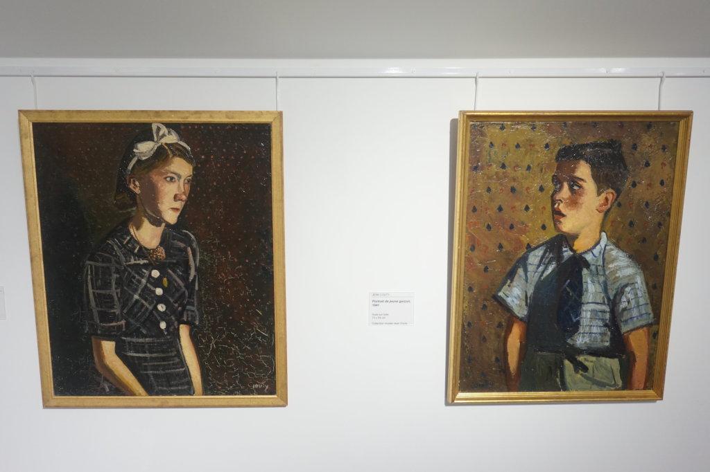 Vue de l'exposition Couty-Buffet au Musée Jean Couty (60)