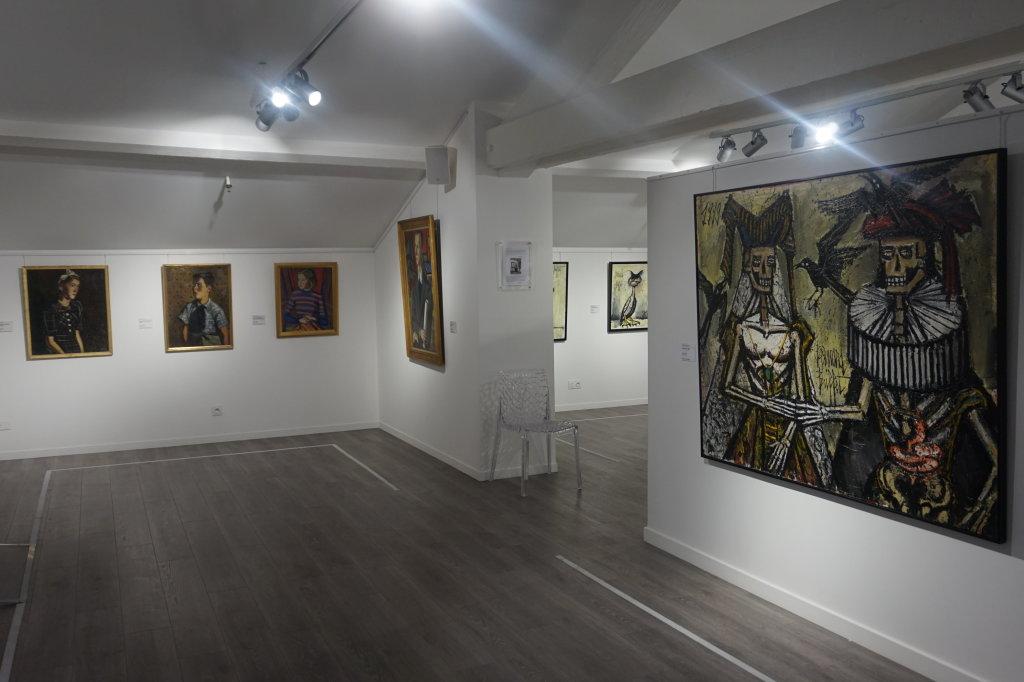 Vue de l'exposition Couty-Buffet au Musée Jean Couty (65)
