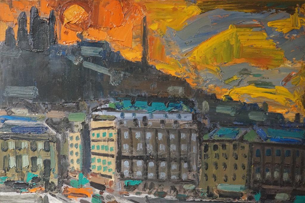 Vue de l'exposition Couty-Buffet au Musée Jean Couty (67)