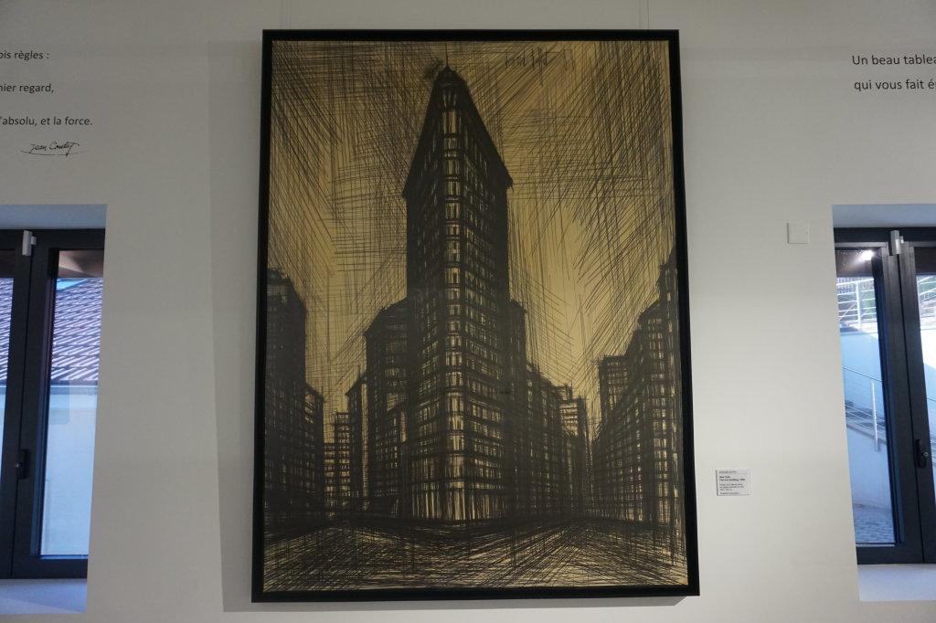 Vue de l'exposition Couty-Buffet au Musée Jean Couty (68)