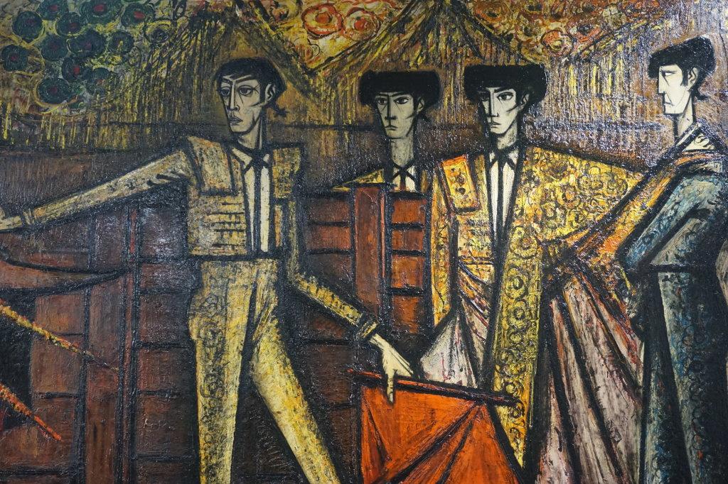 Vue de l'exposition Couty-Buffet au Musée Jean Couty (7)