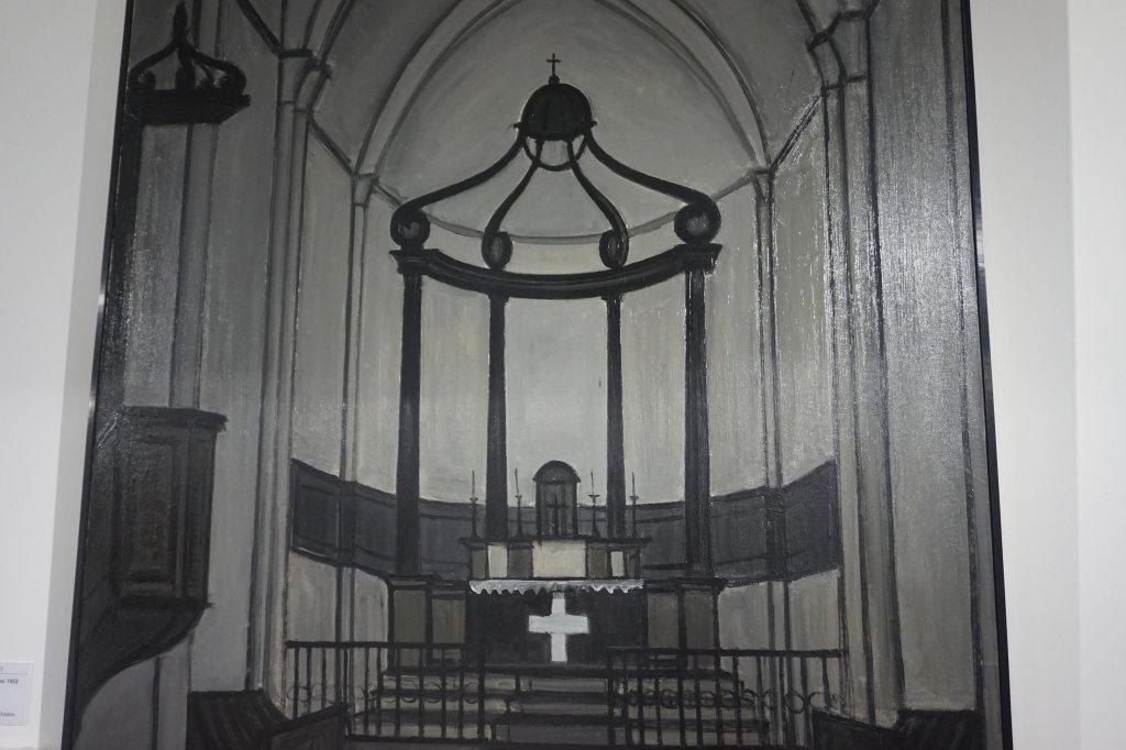 Vue de l'exposition Couty-Buffet au Musée Jean Couty (70)