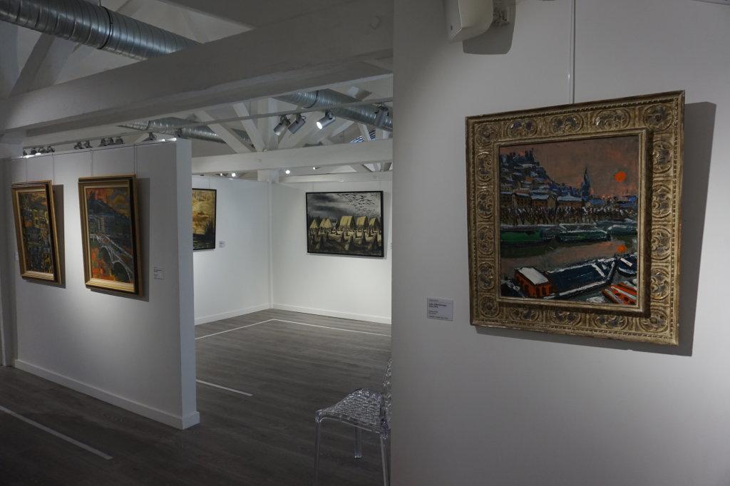 Vue de l'exposition Couty-Buffet au Musée Jean Couty (71)