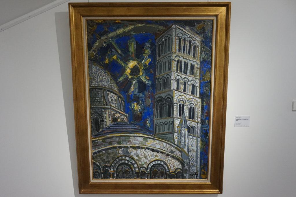 Vue de l'exposition Couty-Buffet au Musée Jean Couty (72)