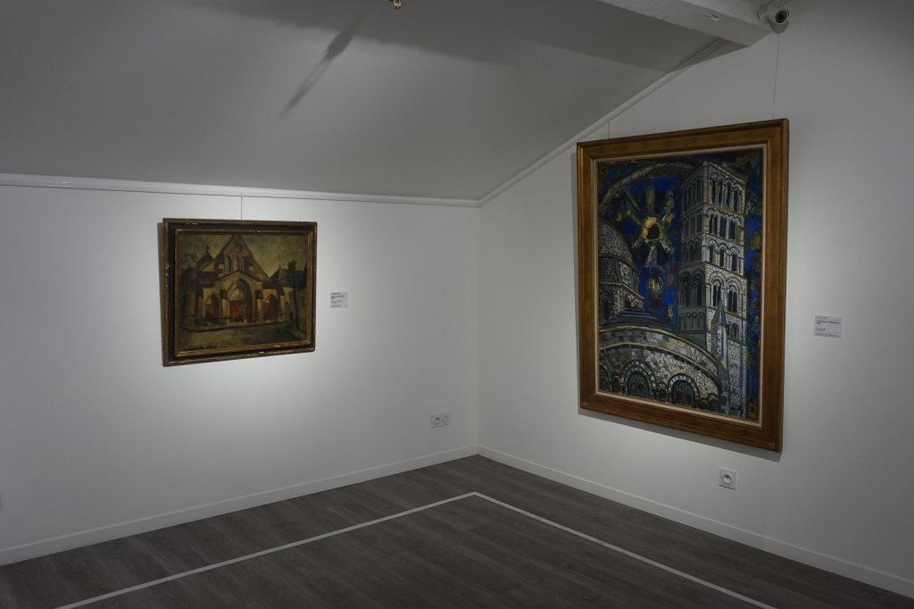 Vue de l'exposition Couty-Buffet au Musée Jean Couty (73)