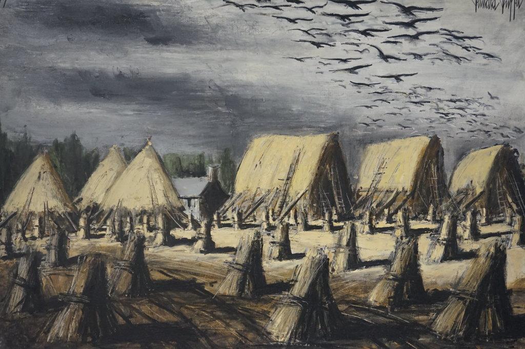 Vue de l'exposition Couty-Buffet au Musée Jean Couty (78)