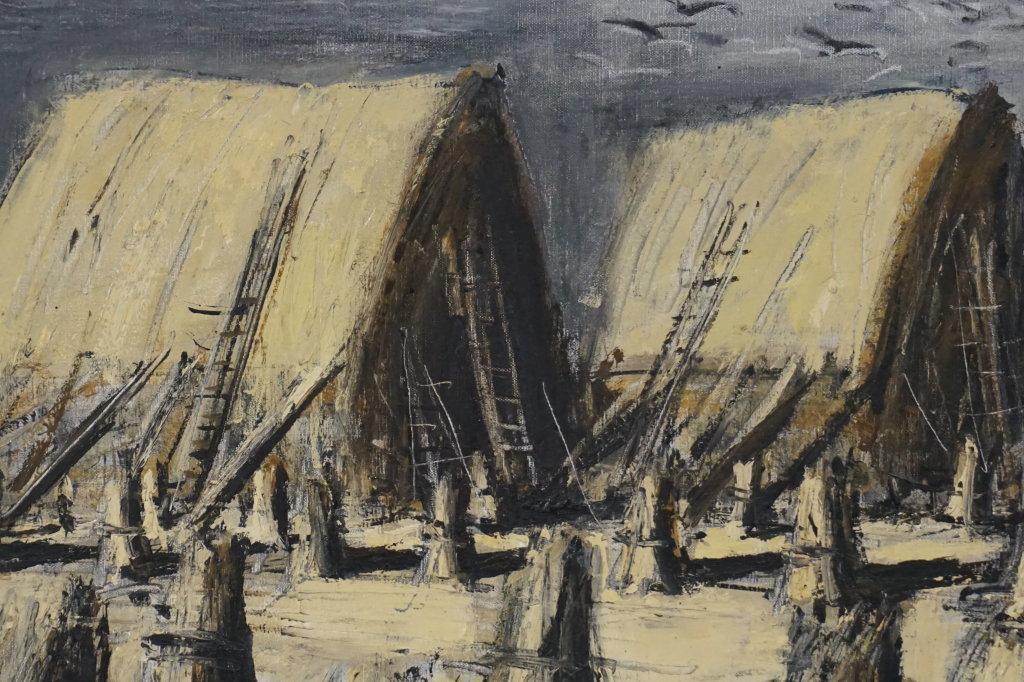 Vue de l'exposition Couty-Buffet au Musée Jean Couty (80)