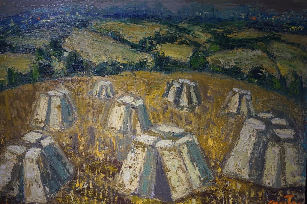 Vue de l'exposition Couty-Buffet au Musée Jean Couty (81)