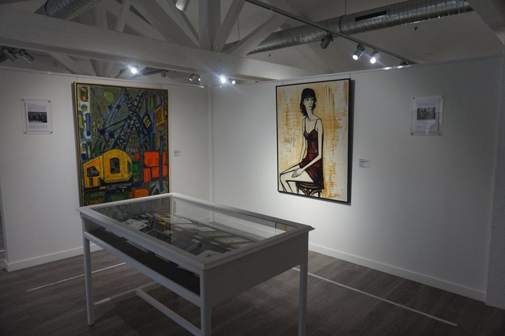 Vue de l'exposition Couty-Buffet au Musée Jean Couty (82)