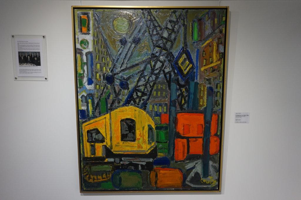 Vue de l'exposition Couty-Buffet au Musée Jean Couty (85)