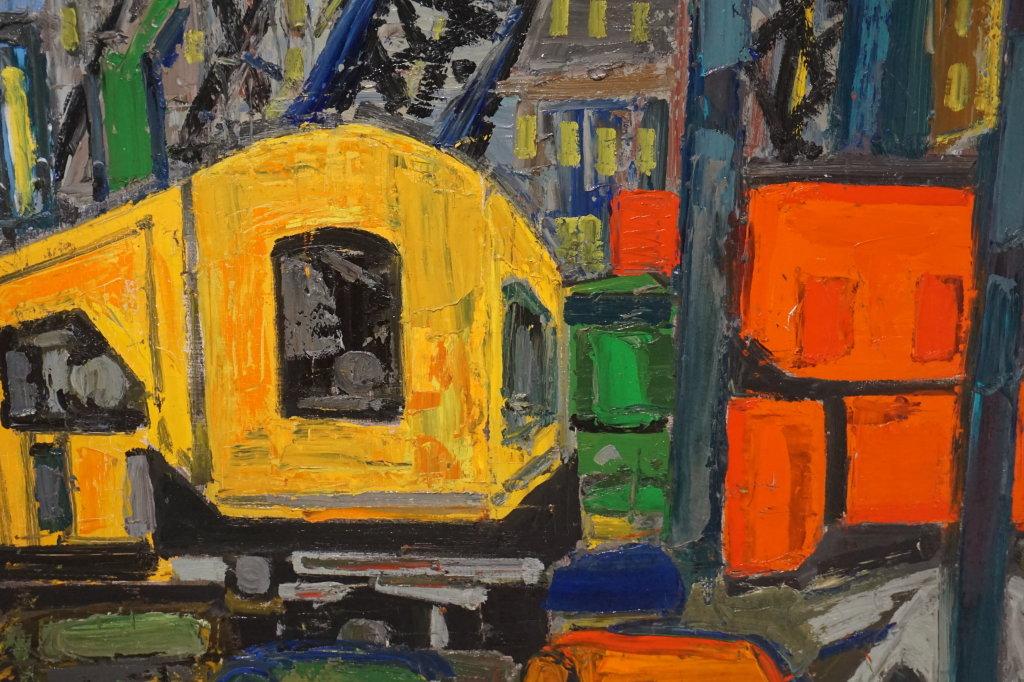 Vue de l'exposition Couty-Buffet au Musée Jean Couty (86)