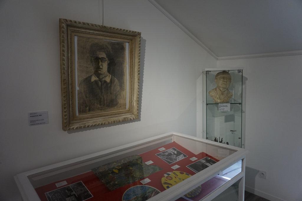 Vue de l'exposition Couty-Buffet au Musée Jean Couty (87)