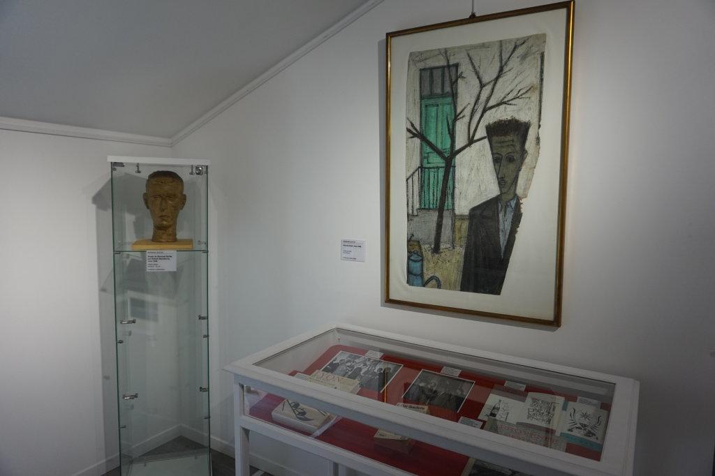 Vue de l'exposition Couty-Buffet au Musée Jean Couty (88)