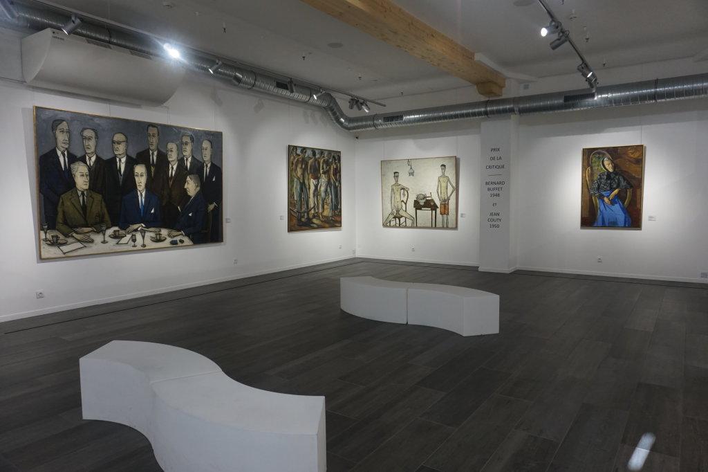 Vue de l'exposition Couty-Buffet au Musée Jean Couty (9)