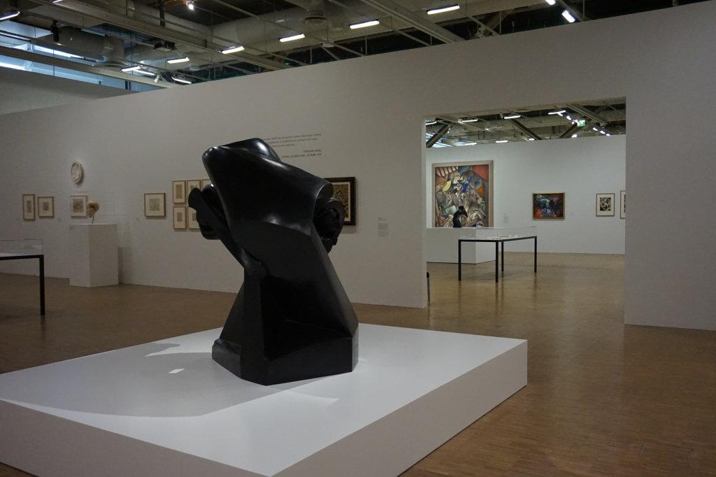 Vue de l'exposition Cubisme - Pompidou (111)