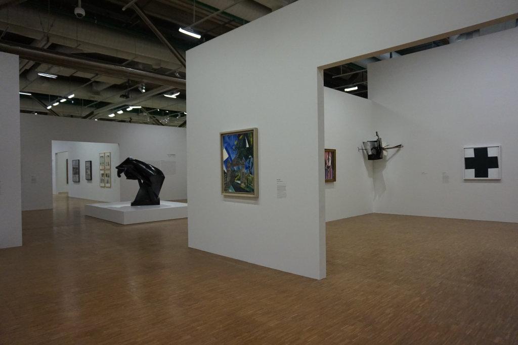 Vue de l'exposition Cubisme - Pompidou (121)