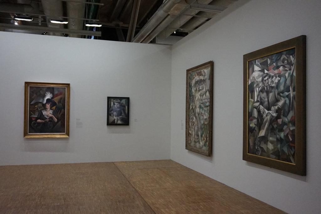 Vue de l'exposition Cubisme - Pompidou (55)
