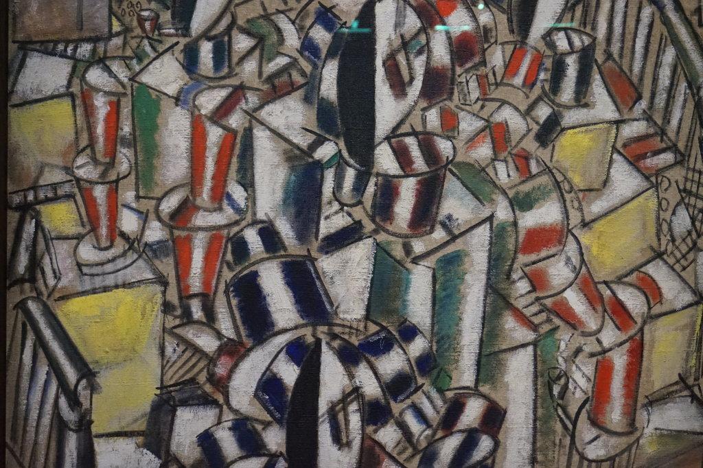 Vue de l'exposition Cubisme - Pompidou (80)