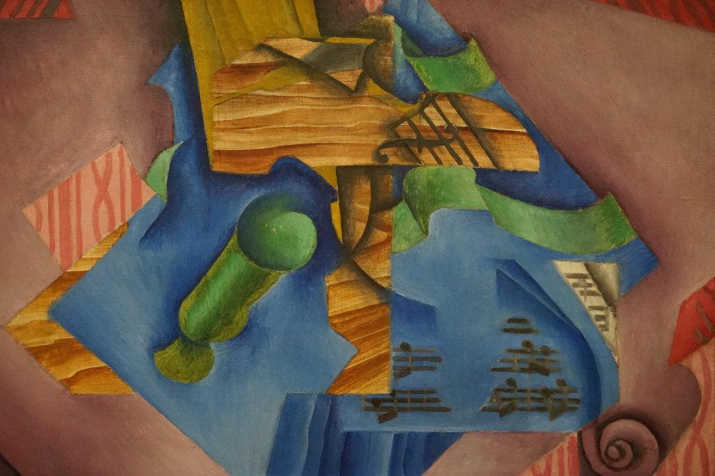 Vue de l'exposition Cubisme - Pompidou (81)