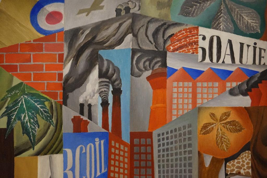 Vue de l'exposition Cubisme - Pompidou (84)