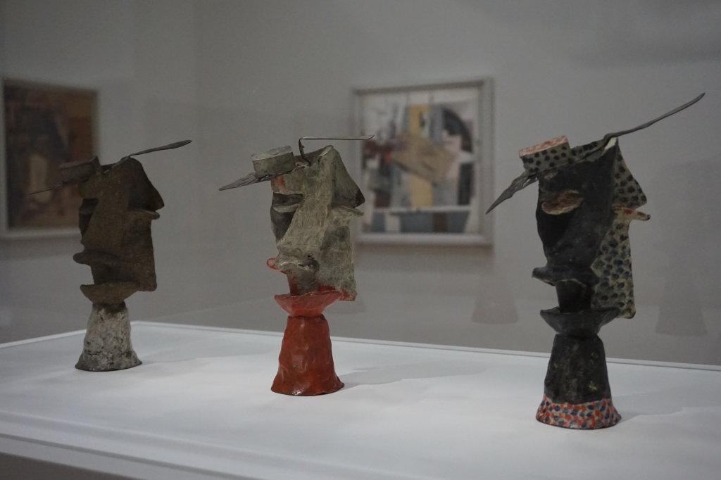 Vue de l'exposition Cubisme - Pompidou (85)