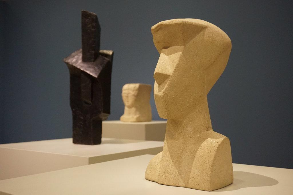 Vue de l'exposition Cubisme - Pompidou (90)