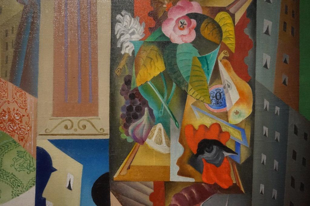 Vue de l'exposition Cubisme - Pompidou (95)
