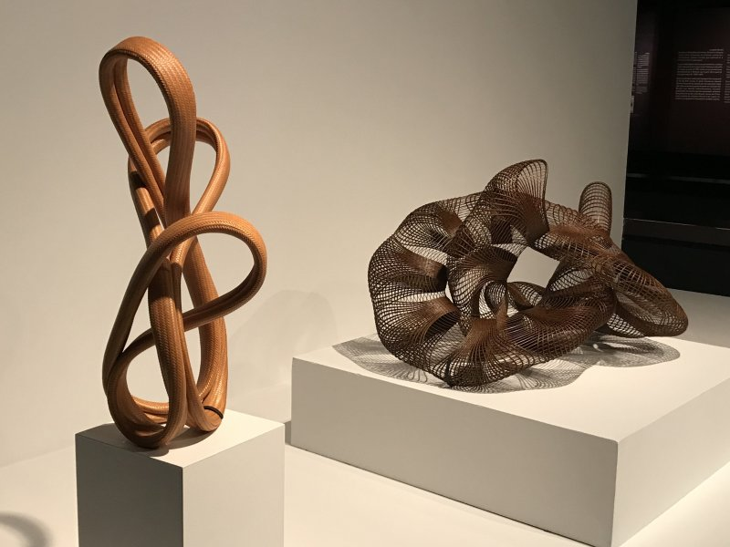 Vue de l'exposition Fendre l'air, l'art du bambou au Japon - Musée du Quai Branly - Jacques Chirac (1)