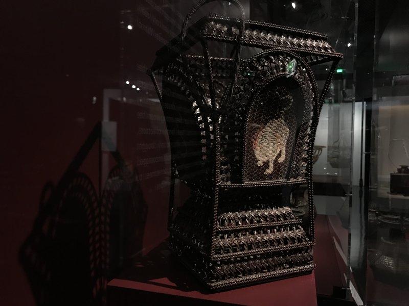 Vue de l'exposition Fendre l'air, l'art du bambou au Japon - Musée du Quai Branly - Jacques Chirac (10)