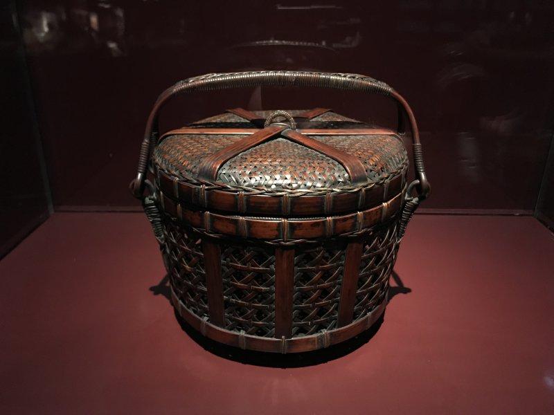 Vue de l'exposition Fendre l'air, l'art du bambou au Japon - Musée du Quai Branly - Jacques Chirac (13)