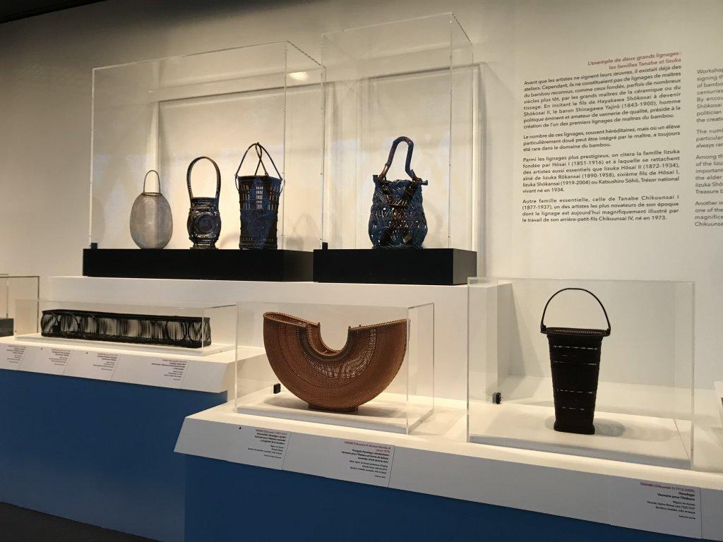 Vue de l'exposition Fendre l'air, l'art du bambou au Japon - Musée du Quai Branly - Jacques Chirac (14)