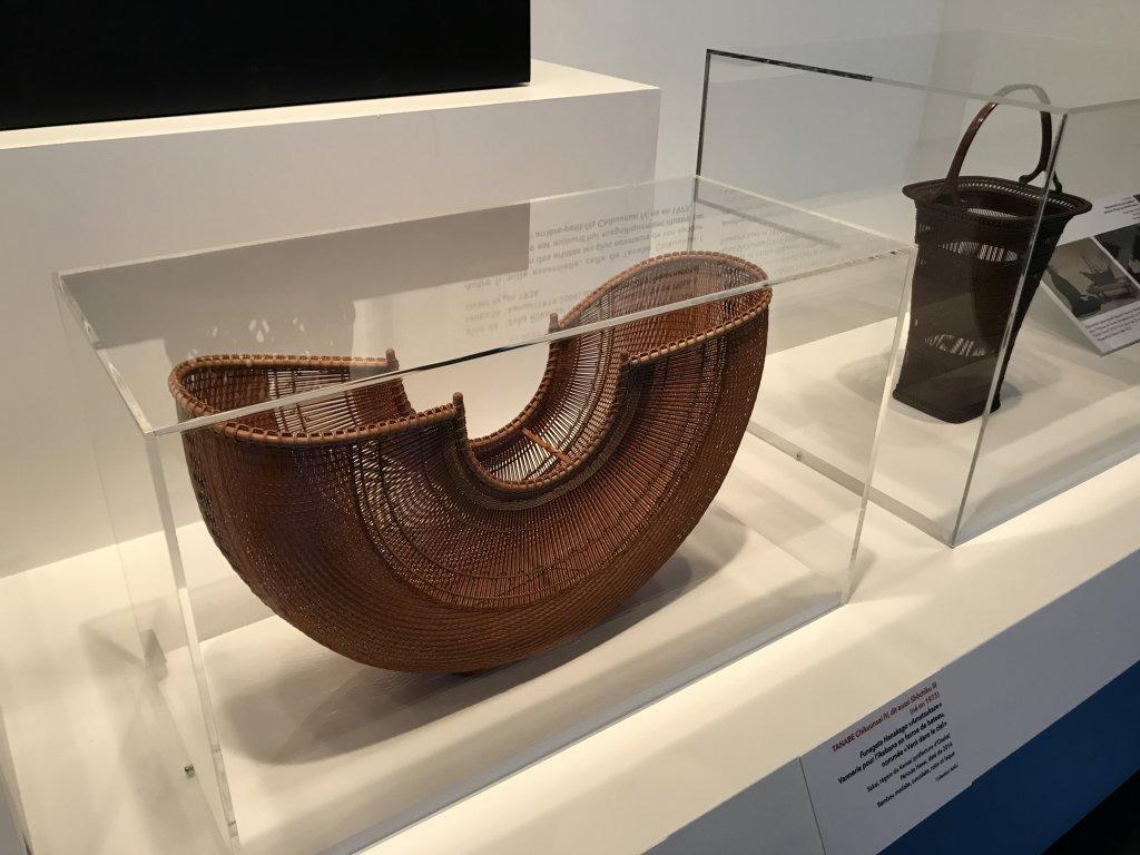 Vue de l'exposition Fendre l'air, l'art du bambou au Japon - Musée du Quai Branly - Jacques Chirac (15)